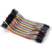 Breadboard Jumper Wires 40 Pin 10cm Male To Female Cable Home Audio Andamp Theater