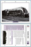 Pacific Plm - Golden Age - French - Legendary Trains Maxi Card