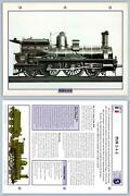 Plm 2-4-2- Golden Age - French - Legendary Trains Maxi Card