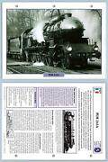 Plm 241a - Golden Age - French - Legendary Trains Maxi Card