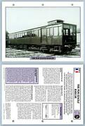 Plm Zzaceyf Railcar - Golden Age - French - Legendary Trains Maxi Card