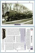 The Plm 241 A - Golden Age - French - Legendary Trains Maxi Card