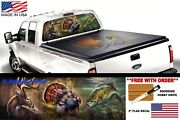 Sea Bass Fishing Hunting Deer Turkey Perforated Window Graphic Decal Truck Suv