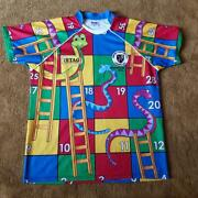Stag Power Rugby Novelty Snakes And Ladders Shirt Romford And Gidea Park Stag Do