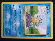 1st Edition Red Eyes Squirtle Shadowless Nm/mint