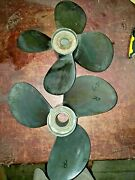 Volvo Penta Duo-prop Matched Set Of Dph Type G-3 Propellers 22898643
