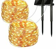 Waterproof Led Christmas Lights Solar Lamp String For Outdoor Multi-color Decors