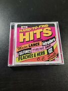 Hard-to-find Hits - Various Artists Cd Sealed