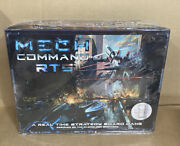 Bad Crow Games Mech Command Rts 1st Ed Board Miniatures New Boxed Nib