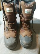 Gander Mountain 558030 Valor 600 Wos Brown Hunting Boots Size 8.5 Waterproof