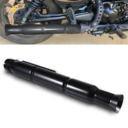 Motorcycle Retro Exhaust Pipe Modified Classic Vintage Style +3 Reducing Sleeves