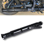 Motorcycle Exhaust Pipe Silencer Vintage Style W/ 3 Reducing Sleeves Universal