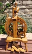 Clemes And Clemes Traditional Spinning Wheel Excellent