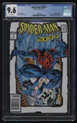 Spider-man 2099 1 2nd Print Cgc 9.6 W Pgs Toy Biz Action Figure Comic Pack