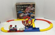 Merry-go-train @ Merry- Go -copter Playrail Tomy Vintage Kid's Game 1976-1978