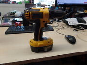 Awesome Dewalt Dc720 18v Cordless 1/2 Drill Driver With Battery And Charger