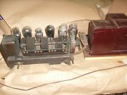 Antique 18 Rca 17 Tube Receiver Amplifier W/ Transformers + 26 Ux226 71a Tube