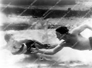 Crp-10747 1947 Steve Pendleton Mary Conwell Underwater Swimming Sequence Film U
