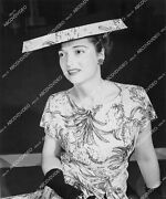 Crp-13605 1944 Nancy Mcburney In New Hat And Dress Chicago Post-war Fashion Show C