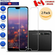 For Huawei P20 / Pro Lite Premium Hard Covertempered Glass Screen Protector Gurd