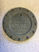 Vintage Delco Dry Charge Battery Stamp R 1964