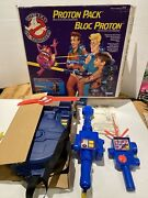 Vintage Kenner The Real Ghostbusters Proton Pack Set In Box With Insert