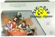 ✰paraphase Jag-ger Jagger Family Jigsaw Puzzle Race Game- Sealed- 1970's- Rare✰