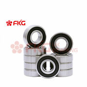 10pcs Bearings 6204-2rs Two Side Rubber Seals Deep Groove Ball Bearings 6204 2rs