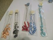 New My Style Costume Jewelry Necklace Matching Earrings Lot Of 5 Sets Auction E