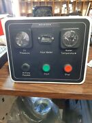 Generator Start / Stop Control Panel W/ Gauges And Battery Parallel Switch