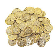 Plastic Gold Coins - Fake Money Party Favors