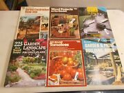 6 Ortho Books Sunset Hanley Wood Home Planners Garden Patio Deck Tomatoes