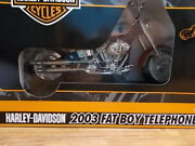 Harley Davidson 2003 Fat Boy Telephone New In Box - Never Used