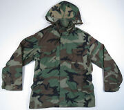 Us Army Military Ecwcs Bdu Cold Weather Camouflage Field Parka Jacket M Regular