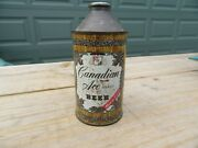 Canadian Ace Beer 12 Fl Oz Cone Top Can