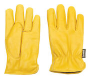 Wells Lamont Men's Cowhide Leather Cold Weather Work Gloves Yellow Xxl