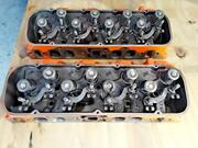 1967 Corvette 427 Heads 3904390 Dated H66 And I76 Complete-excellent Condition