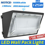 125w 150w Led Wall Pack Outdoor Light Ip65 Waterproof Security Fixture Lamp
