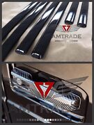 G-class New Style W464 W463a G63 Carbon Fibre Side Moldings Pads On The Handles