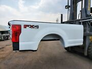 Ford F250 F350 8 Foot Pickup Truck Bed Box 2017 And Up With Lights And Bumper