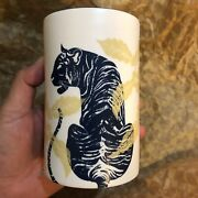 Starbucks Mug Reserve Well Water Tiger 10 Oz Thailand Special Collection - Gift