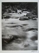 J.d. Hayward Signed Surrealist Photo River And Nude Uelsmann Influence