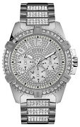 Watch Man Guess Watches Gents Frontier W0799g1 Of Stainless Steel Silver