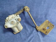 1966-80 Mgb Gt Rear Left Lh Armstrong Lever Arm Shock Absorber W/ Link And Bracket