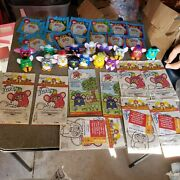 Mcdonalds Furby Happy Meal Toys 1998 Lot With Happy Meal Bags