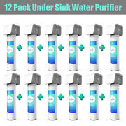 4 Stage Whole House Under Sink Counter Sediment Wf6 Drinking Water Filter System