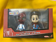 Hot Toys Cosbaby The Amazing Spiderman Toys R Us Exclusive Rare Sealed