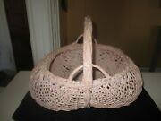 Shabby Pink Buttock Basket.