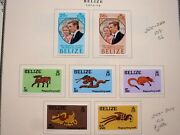 Belize - Collections Of 300+ Stamps - Mostly Mint - Cat Val 1,025.00+