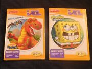 Brand New Sealed Lot Of 2 Fisher Price Ixl Spongebob Imaginext Game Software